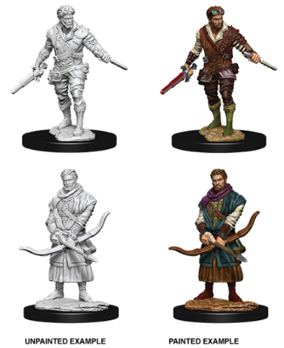 Male Human Rogue: D&D Nolzur's Marvelous Miniatures